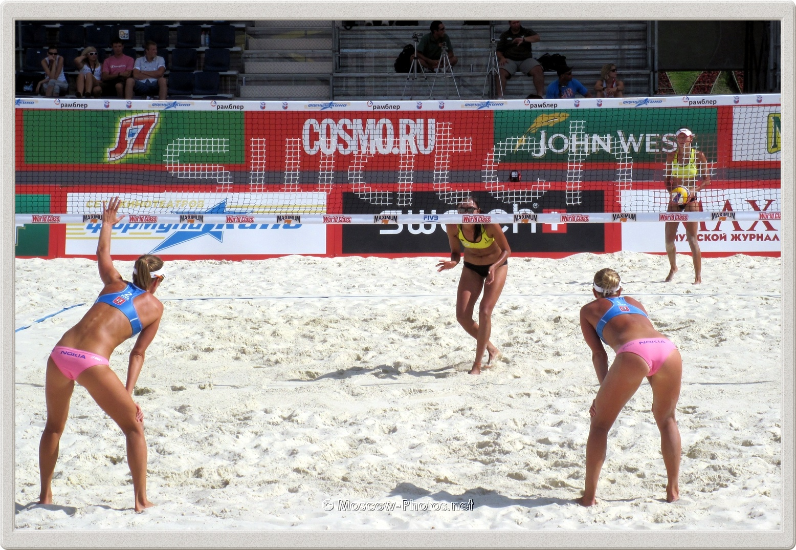 Moscow FIVB Beach Volleyball Swatch World Tour
