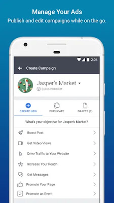 Facebook Ads Manager Interface