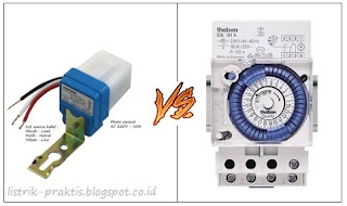 Photocell vs Timer