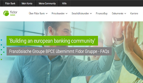 FAQ Fidor Bank à propos de l'acquisition par BPCE
