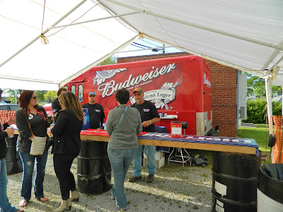 Beer truck at the Testicle Festival
