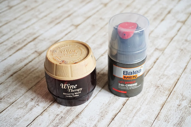 Holika Holika - Wine Therapy Sleeping Mask  Balea  men - Lift Effect 24h Creme