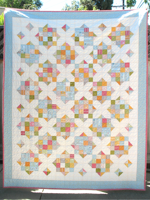 Noteworthy Crossroads Quilt from Ye Olde Sweatshop