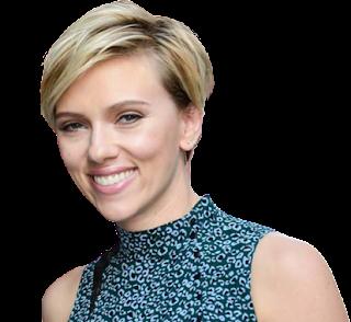 Scarlett Johansson Transparent PNG
