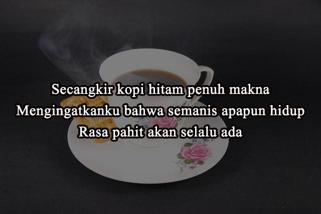 Quote caption kopi