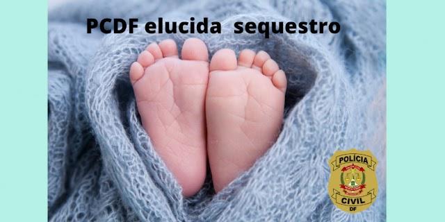 DF: Polícia Civil localiza recém-nascido sequestrado em Hospital
