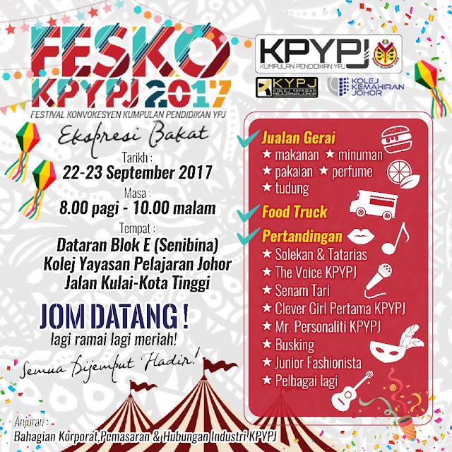 Hebahan: FESKO KPYPJ 2017