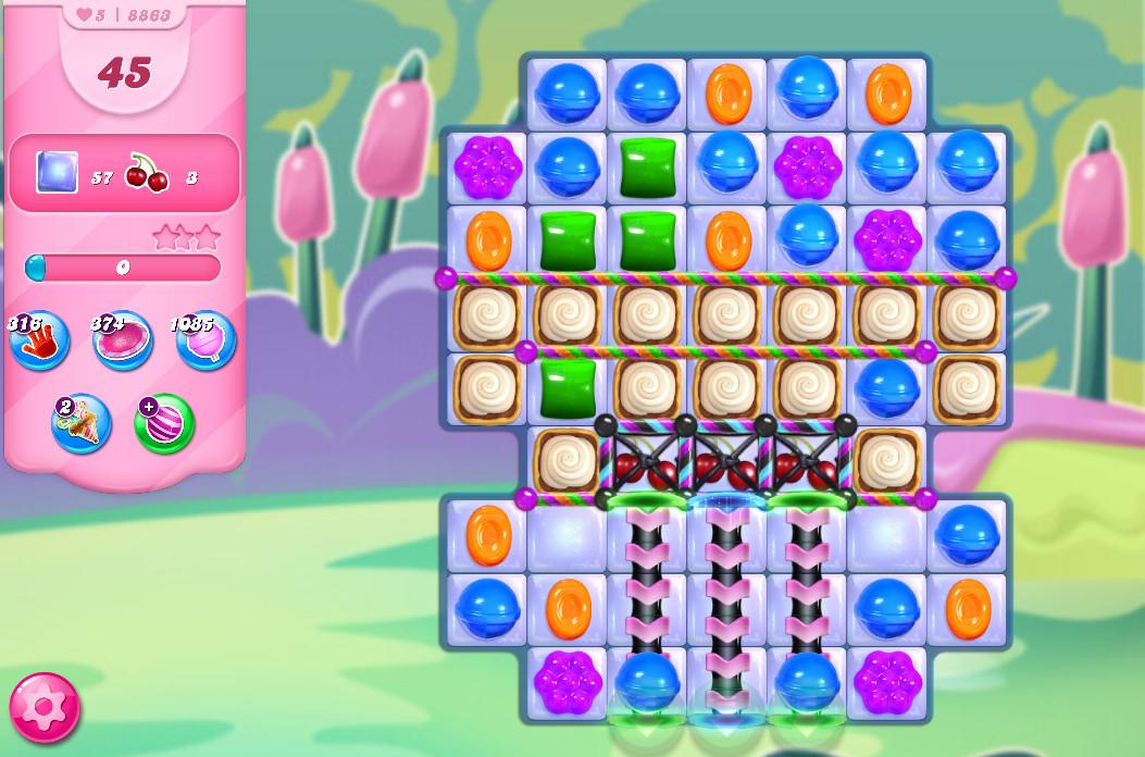Candy Crush Saga level 8863