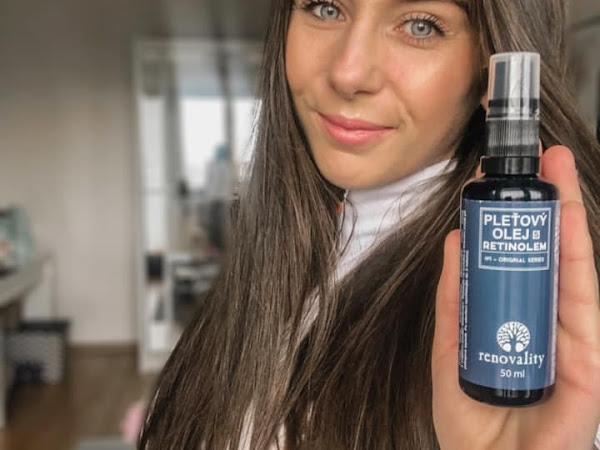 Pleťový olej s retinolem