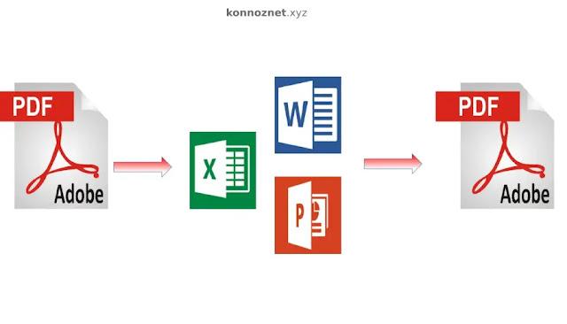 لتحويل ملفات GIF Word JPG إلى PDF