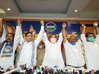 बिहार चुनाव 2020: महागठबंधन के बाद NDA से नहीं बनी बात, कुशवाहा ने BSP और JPS संग बनाया नया मोर्चा