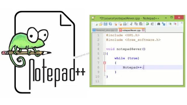 برنامج ++ Notepad