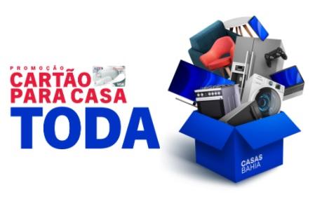 Cadastrar Promoção Cartão Casas Bahia 2020 Cartão Para Toda Casa