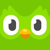 Imagen del icono de la app Duolingo.