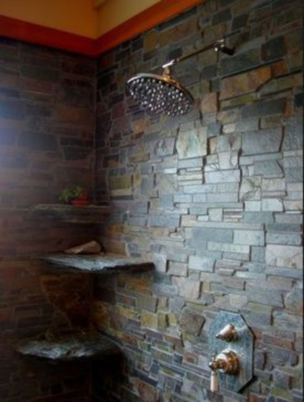 40 Spectacular Stone Bathroom Design Ideas: 40+ Elegant Stone Bathroom Design