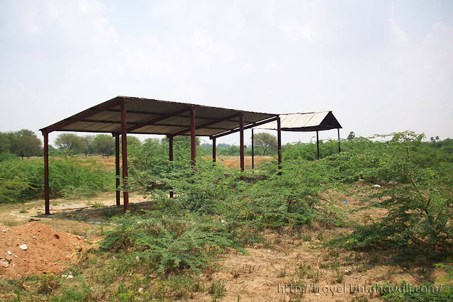 Paramathi Velur cremation ground near temple, considered the southern equivalent of Kasi