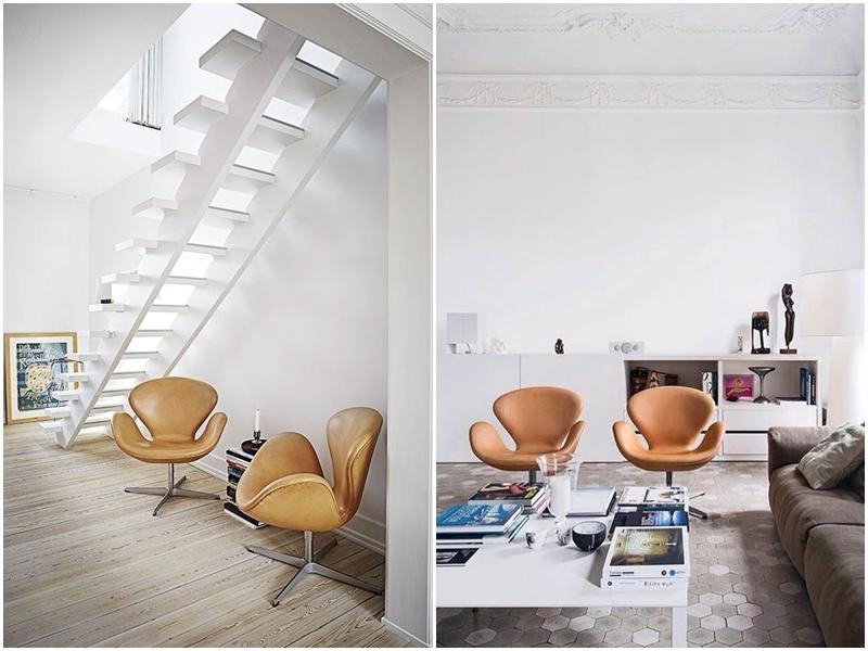 sillas icónicas. Silla Swan Arne Jacobsen
