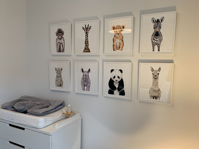 Hang art lower in kids room