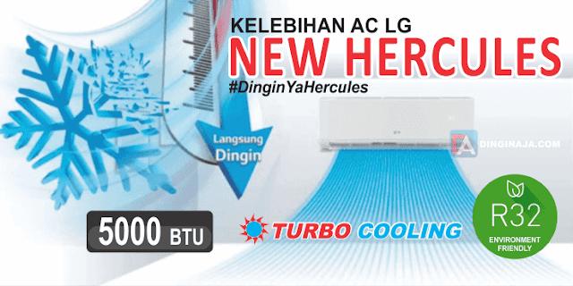 AC LG New Hercules: Cepat Dingin dan Hemat Listrik