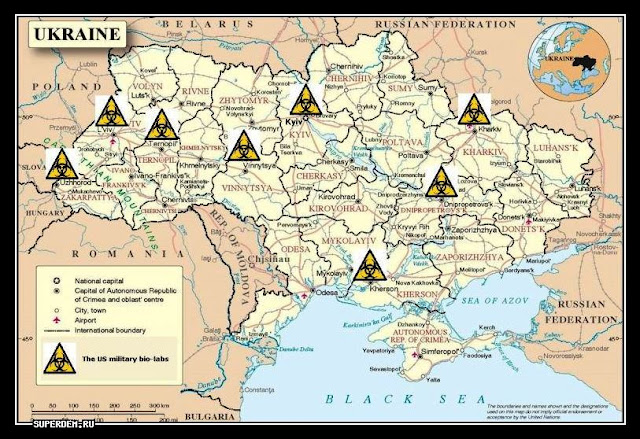 Karte Ukraine