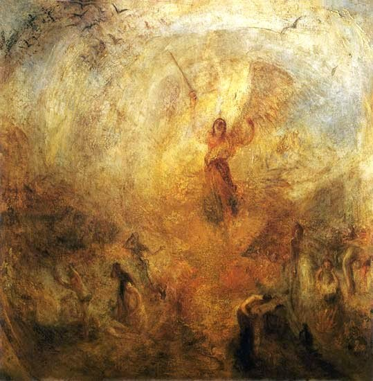 William Turner: Der Engel vor der Sonne. 1846