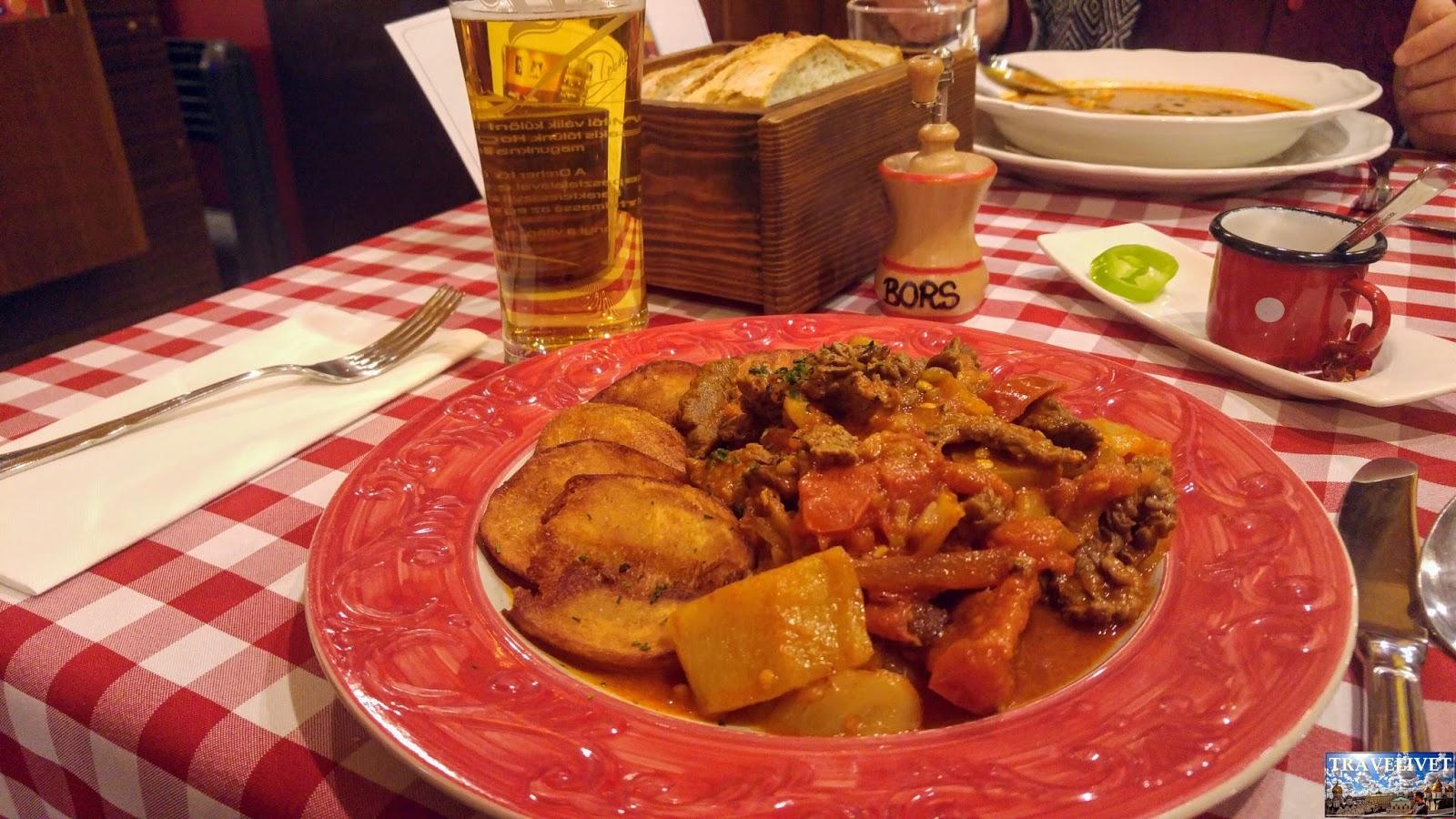 Hongrie Restaurant Budapest