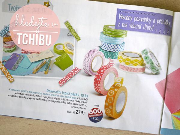 Washi tapes - izolepky z rýže - SILVI design 91ec5156e4