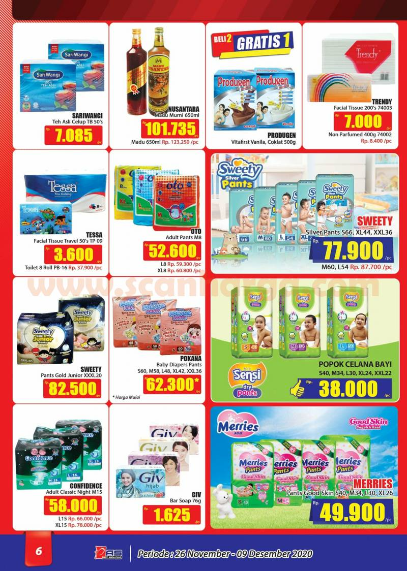 Katalog Promo Hari Hari Pasar Swalayan 26 November - 9 Desember 2020 6