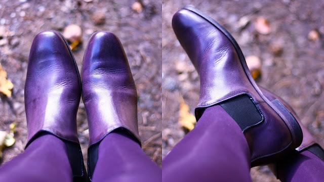 Lila Chelsea Boots von Liebeskind Berlin