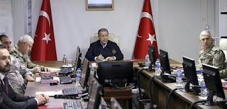 وزير الدفاع التركي: قصفنا 54 هدفا تابعا للنظام السوري وجرى تحييد 76 جنديا من قوات النظام حتى الآن