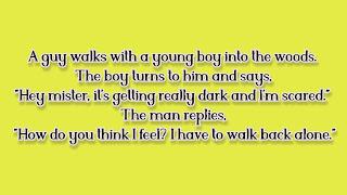 Dark anti jokes