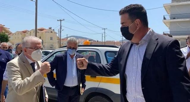 Δ.Κωστούρος: Η επίσκεψη του προέδρου του ΕΛΓΑ δηλώνει τη βούληση για τη στήριξη των αγροτών