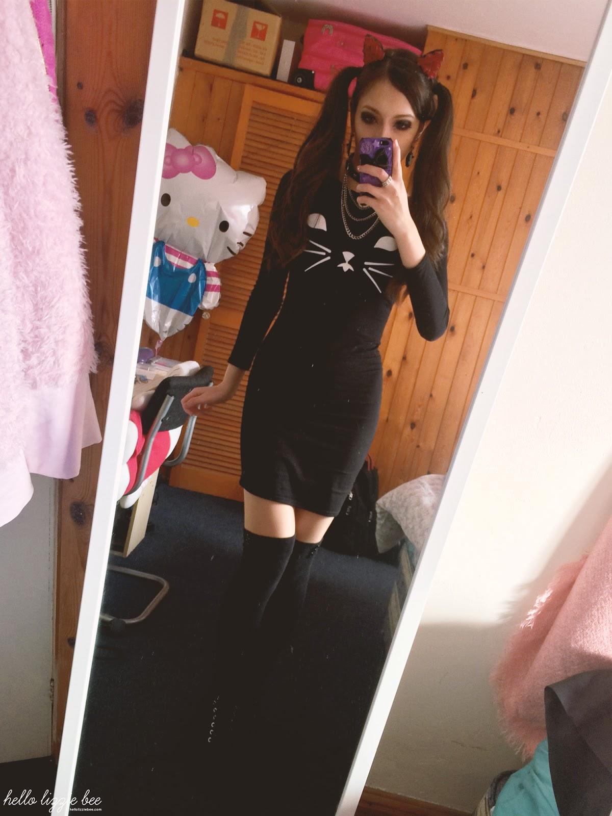 rokku gyaru, gyaru outfit, halloween outfit