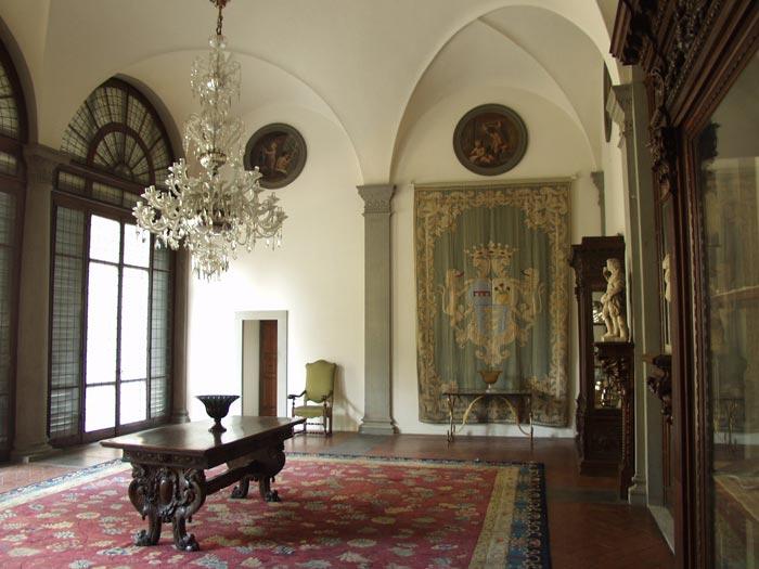 Palazzo Pandolfini Firenze Sala Stibbert