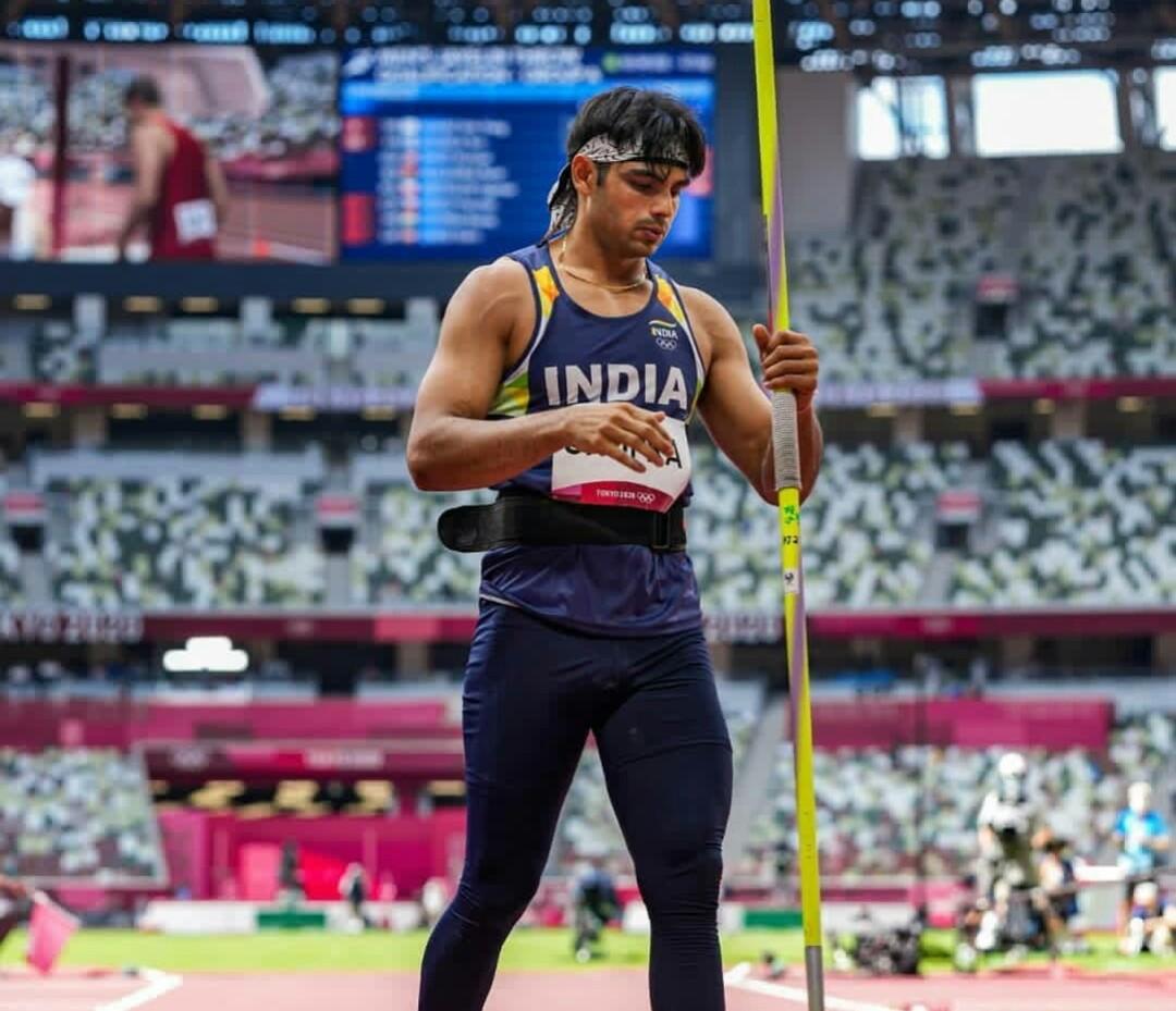 Neeraj Chopra wins gold medal in javelin