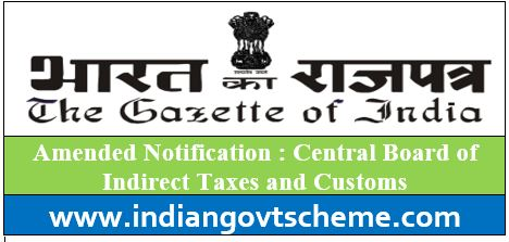 Central Board of Indirect Taxes and Customs