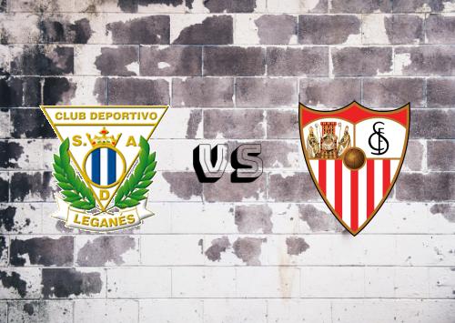 CD Leganés vs Sevilla  Resumen