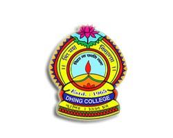 Dhing College Nagaon Logo