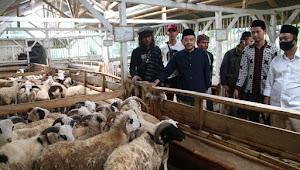Road Show Ekonomi Rakyat, PKB Jabar Kunjungi Peternak Domba Pesantren dan Waids Farm Sumedang