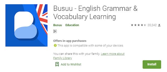 Aplikasi Busuu