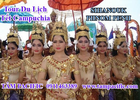 Tour du lịch Tết Campuchia SIHANOUK - PHNOM PENH 4N3Đ