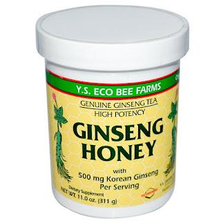 المنتج الخامس خلطة العسل بالجنسنغ
