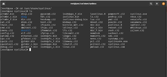 LPIC-System Administrator - Cài đặt Preboot eXecution Environment (PXE) để deploy linux qua LAN trên Centos 8