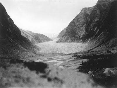 glaciar Nigards en 1935