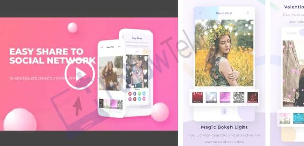 Download Aplikasi Video Bokeh Full HD Bokeh Effect Video Maker