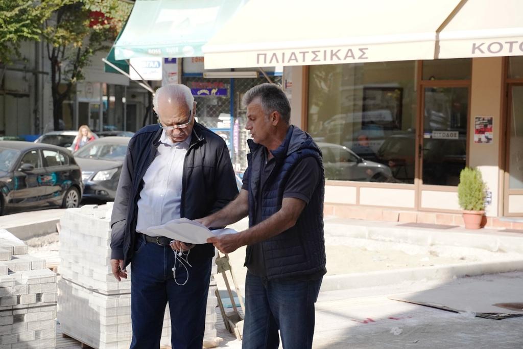 Προχωρούν τα έργα στο Δήμο Λαρισαίων (ΦΩΤΟ)