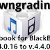 How to Downgrade Facebook for BlackBerry to version Previous v.4.4.0.16 to v.4.4.0.13 Via OTA
