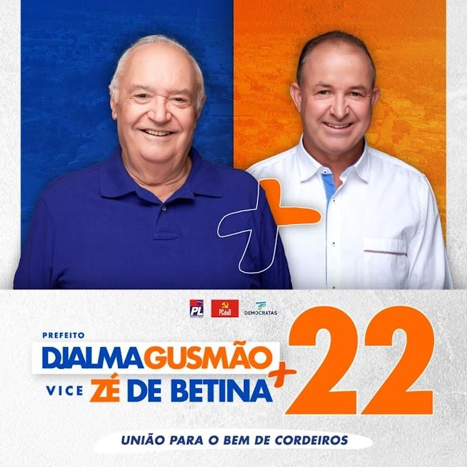 Djalma Gusmão candidato a Prefeito de Cordeiros 2020
