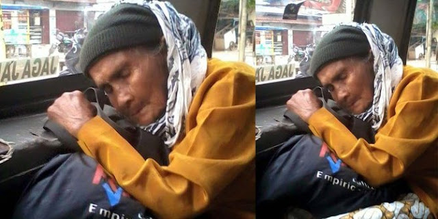 Sikap Sopir Angkot Terhadap Nenek Renta Ini Sungguh Membuat Netizen Terharu