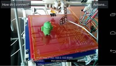 CCTV Android Jarak Jauh